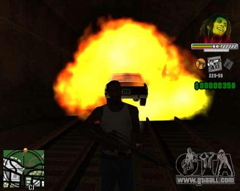 C-HUD Bob Marley for GTA San Andreas third screenshot