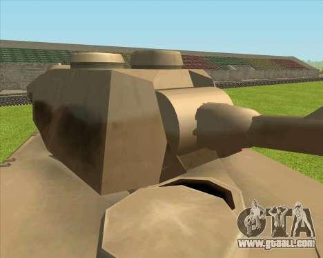 Rhino tp.Elephant - 100.128mm for GTA San Andreas back left view