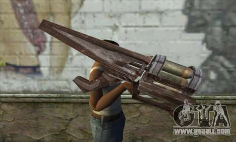 Rocket launcher for GTA San Andreas third screenshot