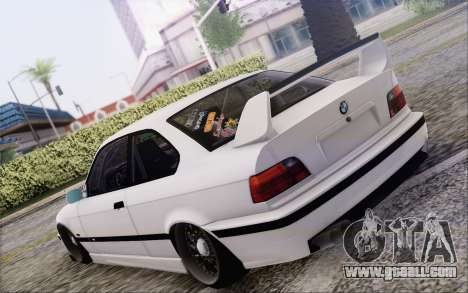 BMW M3 E36 Hellaflush for GTA San Andreas left view