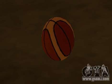 New basketball company Molten for GTA San Andreas second screenshot