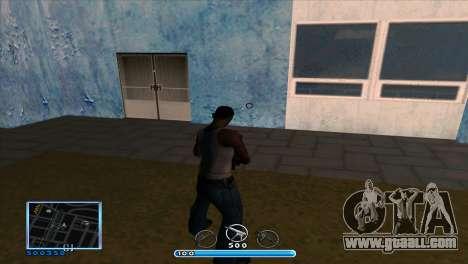 C-HUD by Andr1k for GTA San Andreas second screenshot