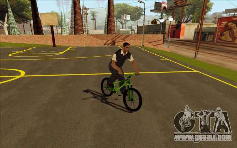 Street MTB (Soft plug) for GTA San Andreas right view