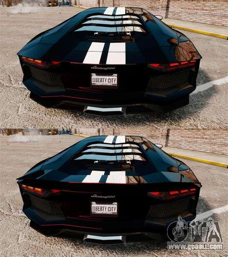 Lamborghini Aventador LP700-4 2012 [EPM] NFS for GTA 4 upper view