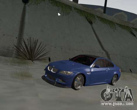 BMW M3 E92 for GTA San Andreas left view