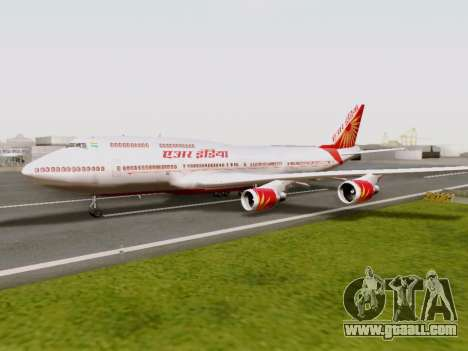 Boeing 747 Air India for GTA San Andreas