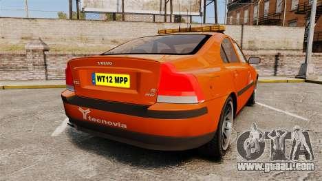 Volvo S60 tecnovia [ELS] for GTA 4 back left view
