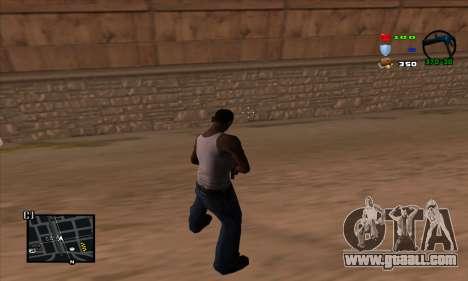 C-HUD Lite for GTA San Andreas second screenshot