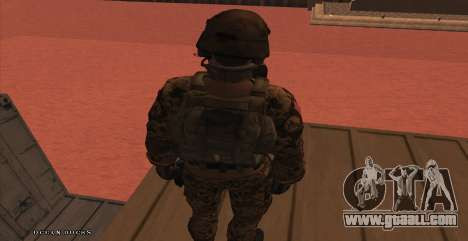 Global Defense Initiative Soldier for GTA San Andreas seventh screenshot