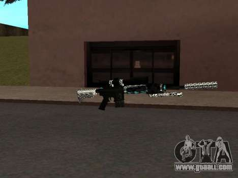 A New Pack Of Weapons for GTA San Andreas third screenshot