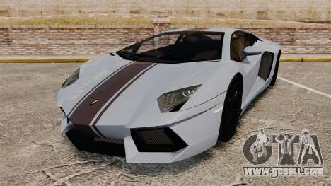 Lamborghini Aventador LP700-4 2012 [EPM] for GTA 4