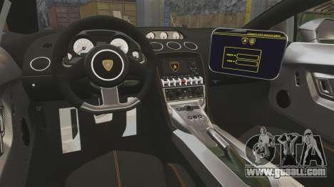 Lamborghini Gallardo Gendarmerie National [ELS] for GTA 4 side view