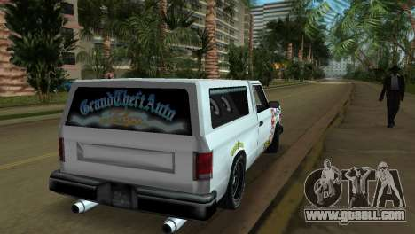 Bobcat Turbo for GTA Vice City side view