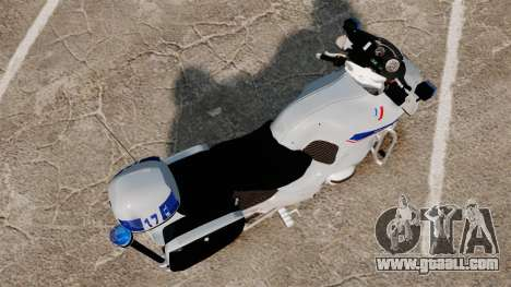 BMW R1150RT Police nationale [ELS] v2.0 for GTA 4 right view