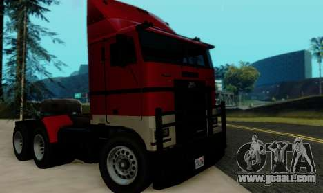 Hauler GTA V for GTA San Andreas right view