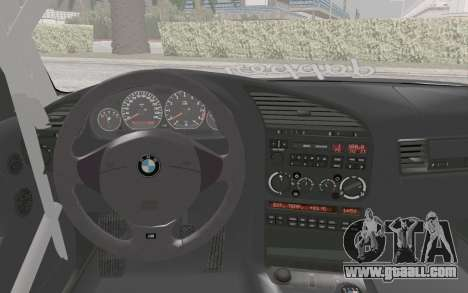 BMW M3 E36 Hellaflush for GTA San Andreas right view