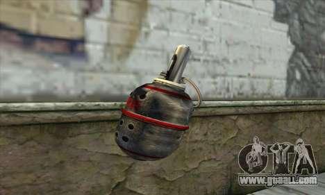 Garnet from Stalker for GTA San Andreas second screenshot