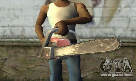 Chainsaw for GTA San Andreas third screenshot