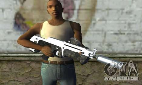 F6 Assault Rifle for GTA San Andreas third screenshot