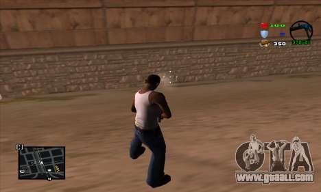 C-HUD Lite for GTA San Andreas forth screenshot