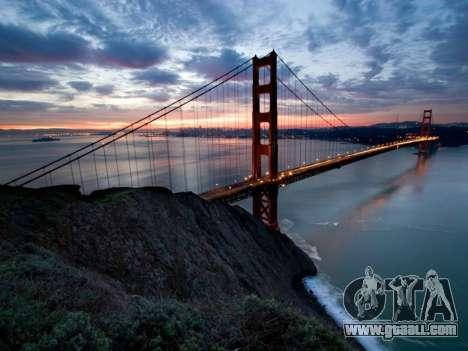 Loading screens, San Francisco for GTA 4 second screenshot