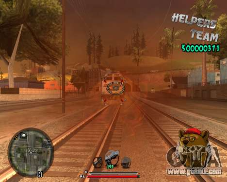 C-HUD Bear for GTA San Andreas second screenshot