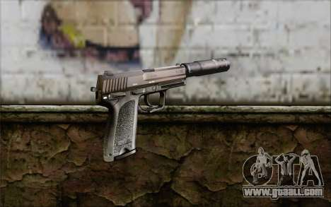G17 pistol for GTA San Andreas second screenshot