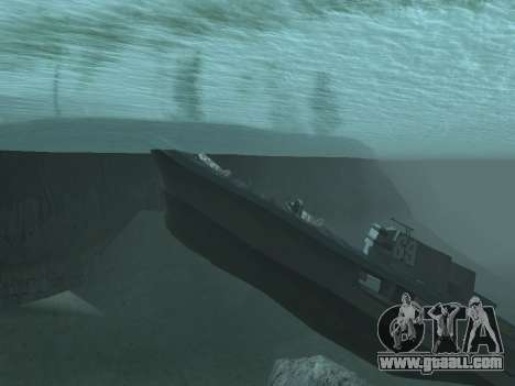 The wreck v2.0 Final for GTA San Andreas second screenshot