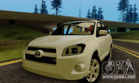 Toyota RAV4 for GTA San Andreas left view