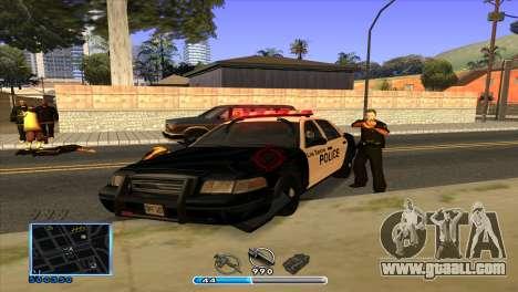 C-HUD by Andr1k for GTA San Andreas fifth screenshot