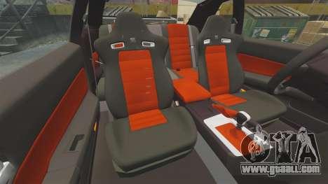 Nissan Skyline GT-R R34 V-Spec II for GTA 4 upper view
