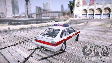 Daewoo FSO Polonez Caro Fire for GTA 4 back left view