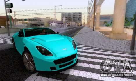 GTA V Rapid GT Cabrio for GTA San Andreas side view