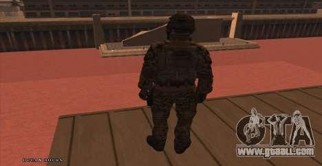 Global Defense Initiative Soldier for GTA San Andreas third screenshot