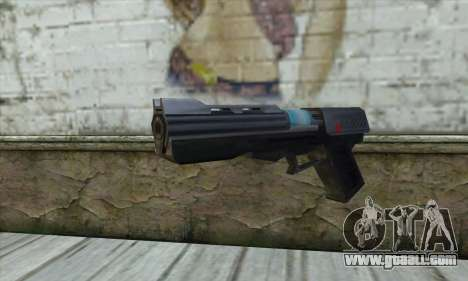 The gun from Star Wars for GTA San Andreas