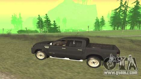 Ford Ranger Limited 2014 for GTA San Andreas right view