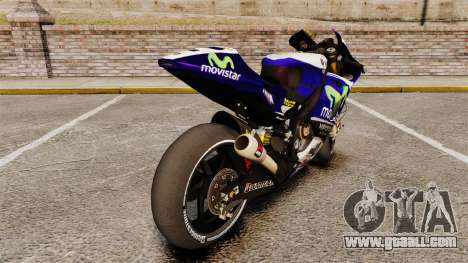 Yamaha YZR-M1 for GTA 4 right view