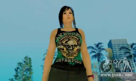 Kokoro A7X for GTA San Andreas sixth screenshot