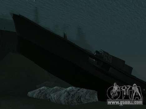 The wreck v2.0 Final for GTA San Andreas third screenshot