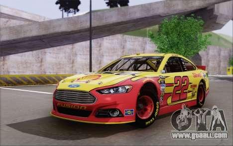 Ford Fusion NASCAR Sprint Cup 2013 for GTA San Andreas