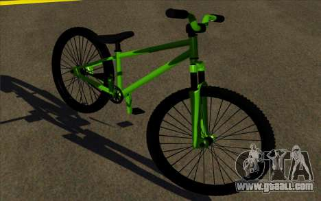 Street MTB (Soft plug) for GTA San Andreas left view