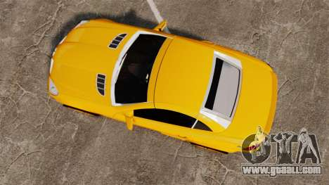 Mercedes-Benz SLK 55 AMG 2014 v1.4 for GTA 4 right view