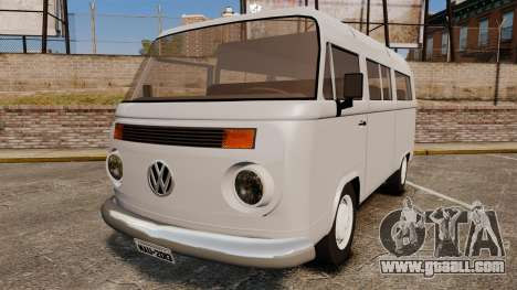 Volkswagen Kombi 1999 for GTA 4