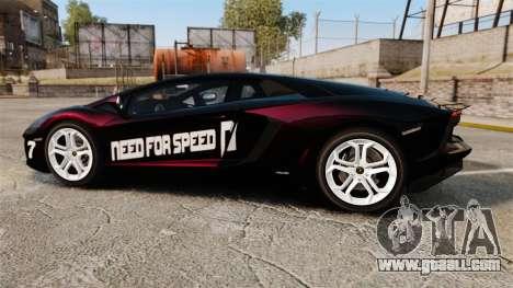 Lamborghini Aventador LP700-4 2012 [EPM] NFS for GTA 4 left view