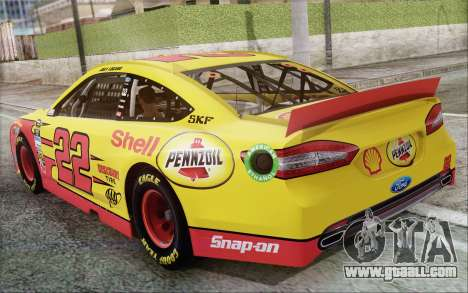 Ford Fusion NASCAR Sprint Cup 2013 for GTA San Andreas right view