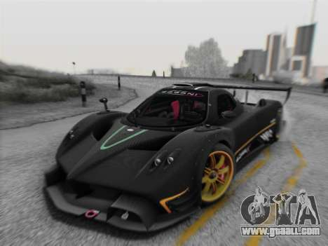Pagani Zonda R 2009 for GTA San Andreas left view