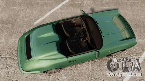 Porsche 911 Speedster for GTA 4 right view