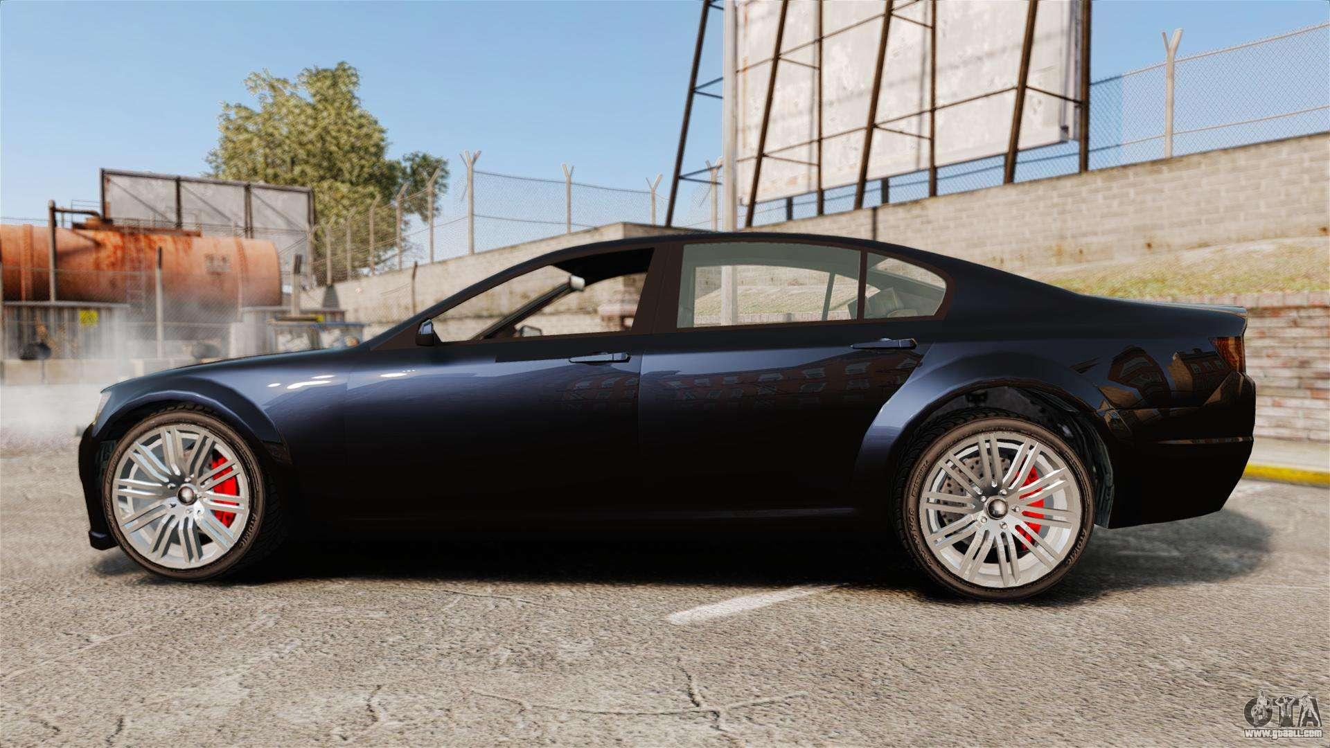 GTA V Cheval Fugitive for GTA 4