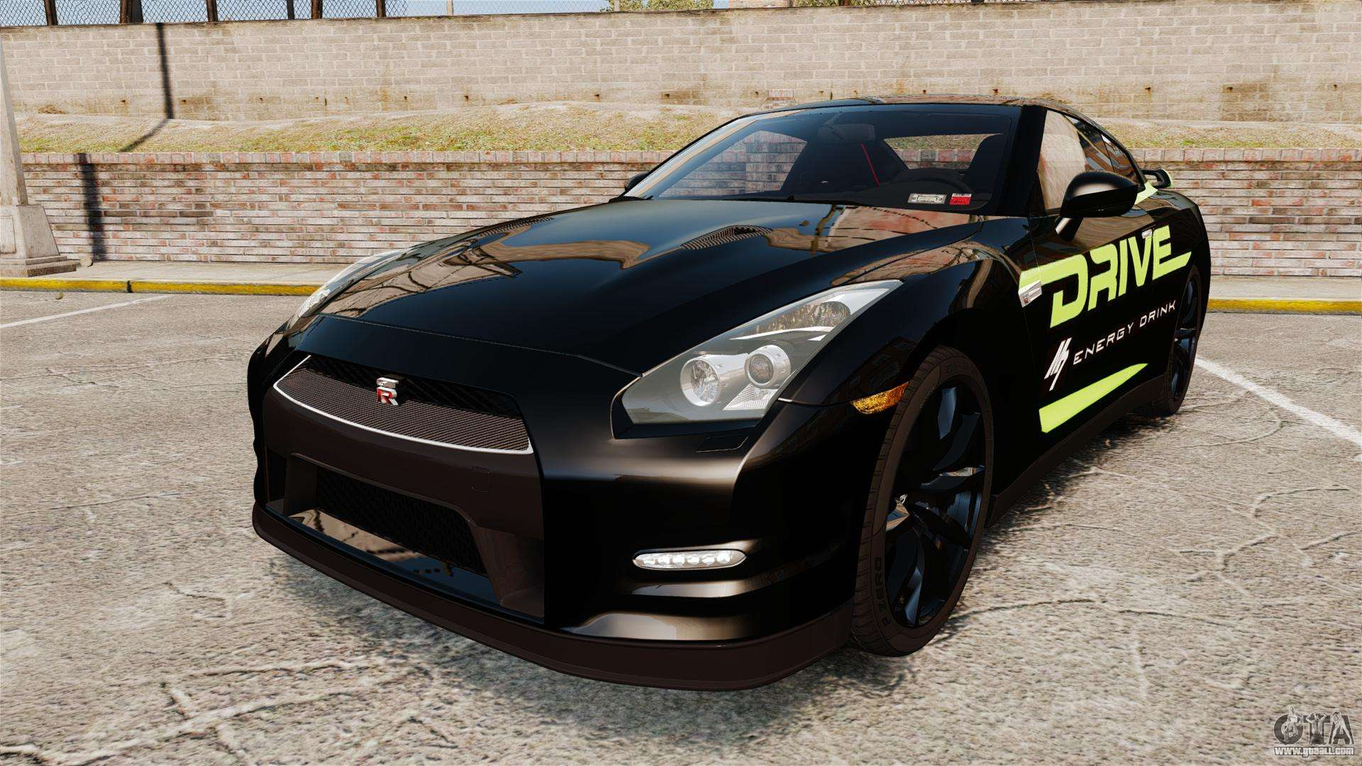 nissan gt r black edition 2012 drive for gta 4. Black Bedroom Furniture Sets. Home Design Ideas