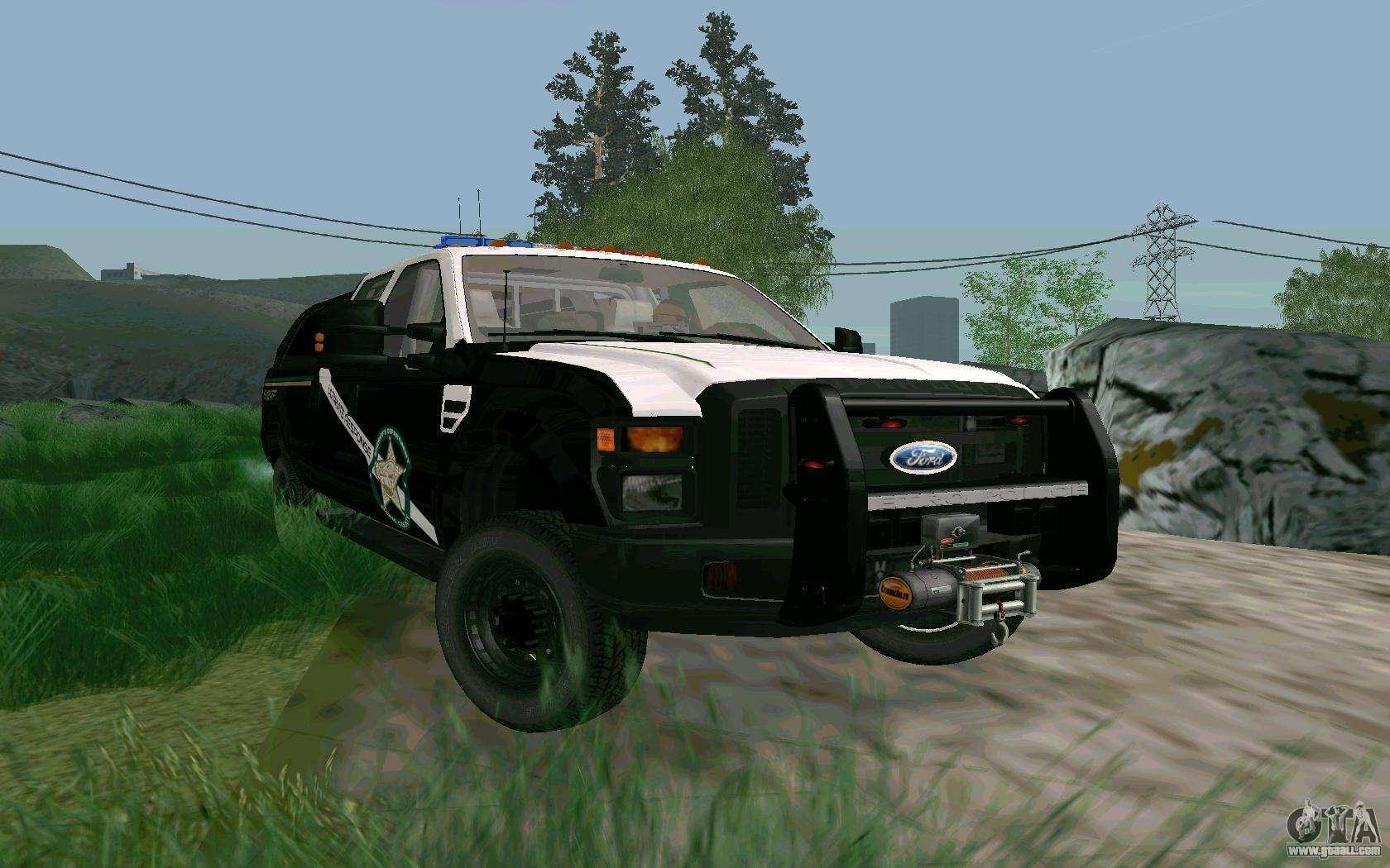 Ford f 250 bone county ultimate response for gta san andreas